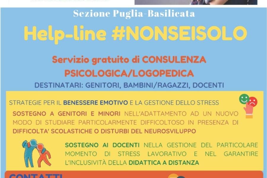 Airipa Puglia-Basilicata | HELPLINE – Covid-19